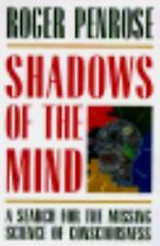 Shadows of the Mind: A Search for the Missing Science of Consciousness-ExLibrary