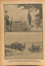Expédition de Salonique Bataille Macédoine Bulgaria Army WWI 1916 ILLUSTRATION
