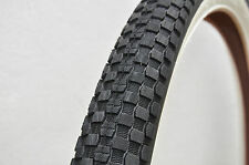 Bicycle White Wall Tyres Kenda - 26 x 2.30""