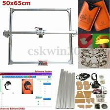 DC 12V 50x65cm Area DIY Desktop Mini Laser Engraving Cutting Machine Printer Kit