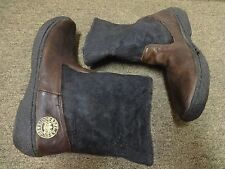 REPLAY BOOTS SZ 44 MEN LEATHER WESTERN RIDING EQUESTRIAN BROWN MOTORCYCLE BROWN