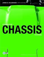 Automotive Chassis Systems (5th Edition), Halderman, James D., Good Book