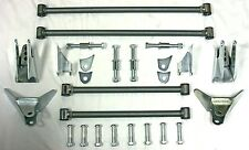 30's 40's Ford Chevy Plymouth + Street Rod Triangular Rear Four Bar 4 Link Kit