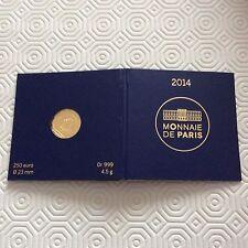 Pièce de 250 euros en or France 2014 - Le Coq
