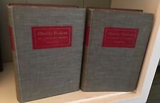 Charles Dickens His Tragedy and Triumph Volume One and Two Edgar Johnson 1952