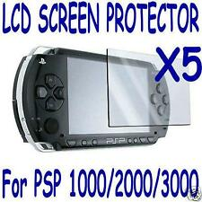 5 Sony PSP Protector Screen Film Skin Shield Lens US Seller 1000 2000 3000 lcd