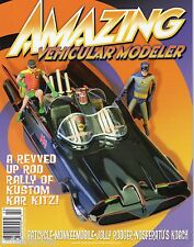 AMAZING VEHICULAR MODELER #2 BATCYCLE + BATMOBILE + NOSFERATU'S KOACH + MONKEES