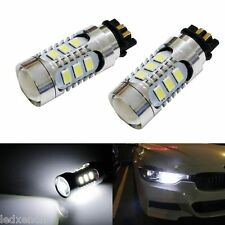 2 AMPOULE LED EN CULOT PW24W A 14 LED POUR FEUX DE JOUR DIURNE AUDI A4 8K2