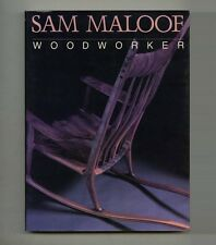 1988 California Modern SAM MALOOF: WOODWORKER American Studio Furniture Craft BK
