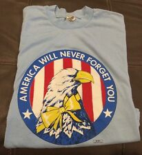 vintage 90s USA UNITED STATES OF AMERICA Flag  Bald Eagle T-shirt XL