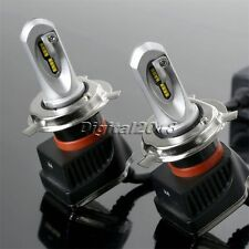 2x H4 160W 16000LM LED Headlight PHILIPS Chip Kit High Low Beam Bulb 6000K White