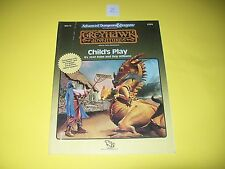 WG10 CHILD'S PLAY DUNGEONS & DRAGONS AD&D GREYHAWK ADVENTURES MODULE TSR 9265 2