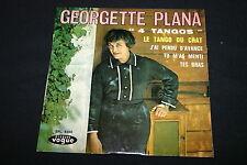 """GEORGETTE PLANA   EP 45T 7""""   """"4 TANGOS""""   LE TANGO DU CHAT   1965"""