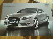 Audi A5 brochure Apr 2007