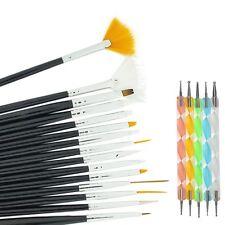 !20 pcs Nail Art Design Set Dotting Painting Drawing Polish Brush Pen Tools Set