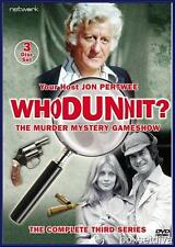 WHODUNNIT- SERIES 3- COMPLETE THIRD SERIES**BRAND NEW DVD **