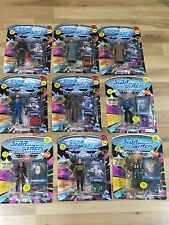 Star Trek The Next Generation Action Figure Lot Of 9 Sealed Playmates 1995