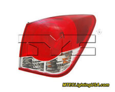 TYC Right Outer Side Tail Light Lamp Assembly for Chevrolet Cruze 2011-2015