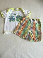 Baby Boys Clothes 0-3 Months- Cute Outfit - T Short Top & Shorts
