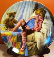 1984 Reco NURSERY RHYME PLATE DIDDLE DIDDLE DUMPLING Mother Goose Series