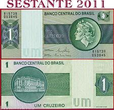 BRAZIL - BRASILE  - 1 CRUZEIRO nd 1980  -  Sign 20  -  P 191Ac   -   FDS / UNC