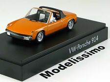 1:43 Minichamps VW Porsche 914 1969 orange
