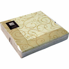 3-Ply Square Disposable Paper Napkins Serviettes Tableware(Pack of 20) FREE P+P