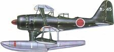 Mitsubishi F1M Pete Reconnaissance Airplane Handcrafted Wood Model Large New