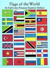 Flags of the World: 96 Full-Color Pressure-Sensitive Stickers