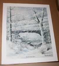 The Old Rock House Kentucky Artist Fred Thrasher Natural Bridge Sold Out Wildlfe