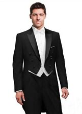 Men's Wedding Morning Suits Groom Tuxedos Party Tailcoats Opera Suit Custom Size