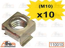 10 ECROUS CAGE NEUFS pour fixation d'enjoliveur de Citroen 2CV DYANE  -110010-
