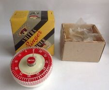 Classic Retro Vintage 1950's Smiths ringer timer Cooking With Box VGC