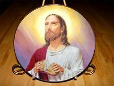 """Jesus Christ """"Bread Of My Body"""" PRINCE OF PEACE by William Luberoff Plate"""