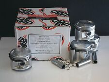 KAWASAKI Z550 KZ550 GT550 GPZ550 PISTON KITS (4) NEW STD SIZE ZX550 KiR