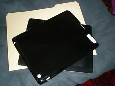 iPad 1, 2, 3rd Generation BLACK CASE COVER, FLEXIBLE DURABLE