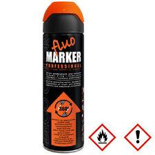 1 x 500ml orange Markierungsspray Markierfarbe Lack Sprühlack Spraydose 14 520