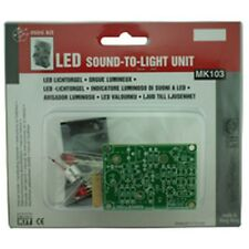 Velleman Sound to Light Unit Electronics Kit MK103
