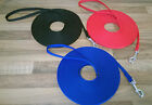 OBEDIENCE TRAINING LEAD/LEASH 5m 10m 15m HORSE /DOG QUALITY VERY STRONG WEBBING