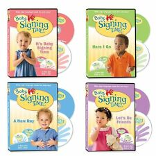 Baby Signing Time DVD Collection DVD Set Kids Children Song CDs Music Toddler TV