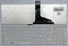 New for Toshiba Satellite L850 L850D L855 L855D series laptop Keyboard white