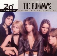 The Runaways - 20th Century Masters:The Millennium Collection:The Best of CD NEW
