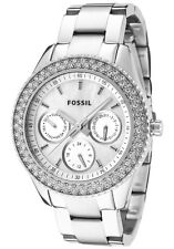 Fossil ES2860 Women's Stella Mother Of Pearl Multifunction Watch