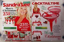 Sandra Lee 2016 CHRISTMAS Special Issue 251 RECIPES & IDEAS Made Easy COCKTAILS