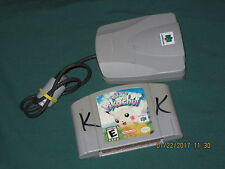 HEY YOU PIKACHU N64 / Nintendo 64 Pokemon Video Game & Voice Recognition Unit !