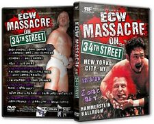 ECW Wrestling: Massacre on 34th Street DVD, Tajiri Steve Corino Mikey Whipwreck