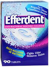 Efferdent Denture Cleanser Tablets, 90 Tablets