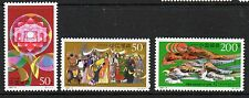 China 1997 50th anniv Inner Mongolia SG4186-4188 unmounted mint set stamps