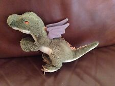 "Harry Potter Hagrid Pet Dragon Norbert Green Soft Toy 13"" Plush Teddy By Trudi"