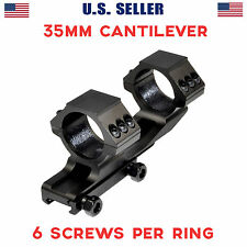 Sniper 35mm Medium Profile Dual Rings Cantilever OffSet Rifle Scope Mount